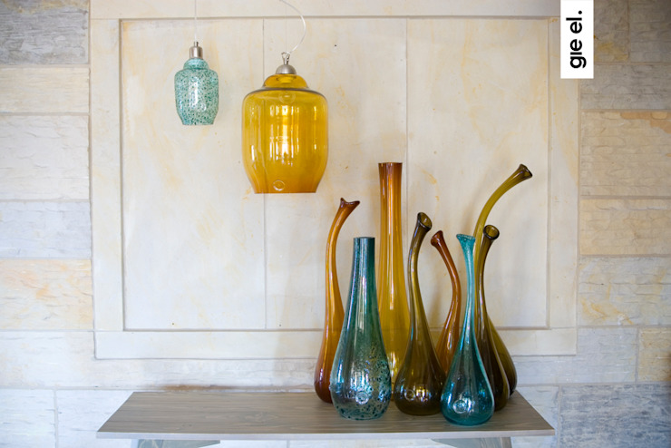 Unique glass decoration od Gie El Home Nowoczesny