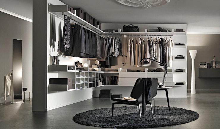 Walk-in Closet Mobilificio Marchese HogarAlmacenamiento