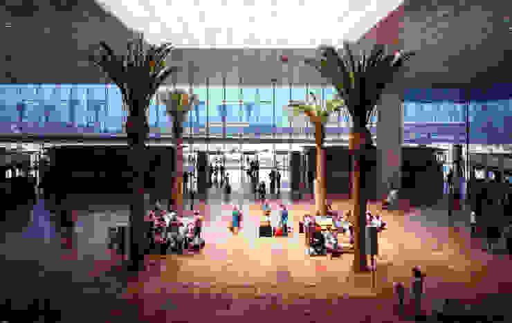 Terminal II at Barcelona Airport de Ricardo Bofill Taller de Arquitectura