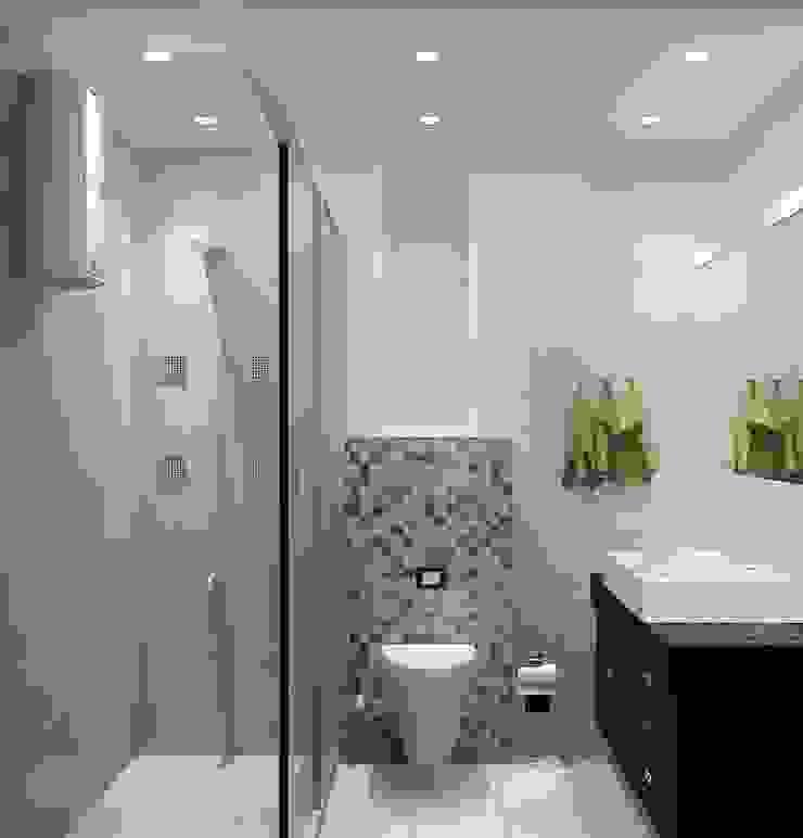 Toilet 1 by Universal Pride Interiors Pvt. Ltd.