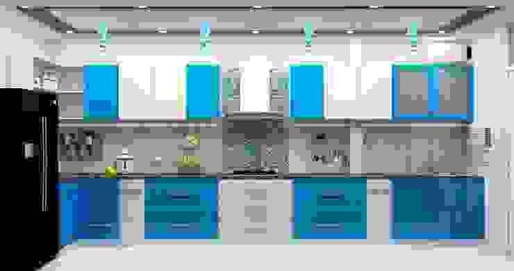 Kitchen by Universal Pride Interiors Pvt. Ltd.