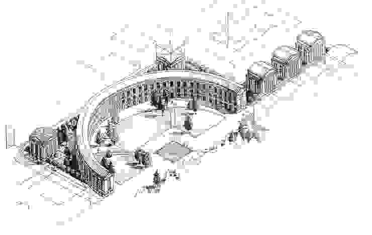 Pa Soder Crescent de Ricardo Bofill Taller de Arquitectura