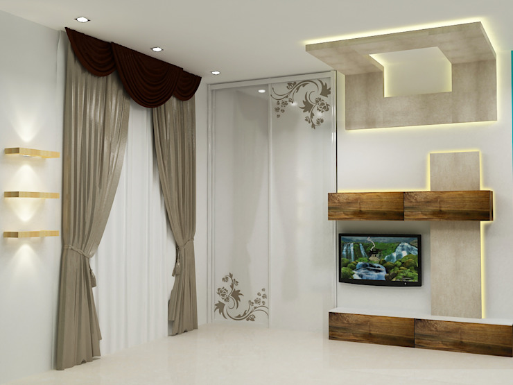 4 BHK Appartment in Gurgaon by Universal Pride Interiors Pvt. Ltd.