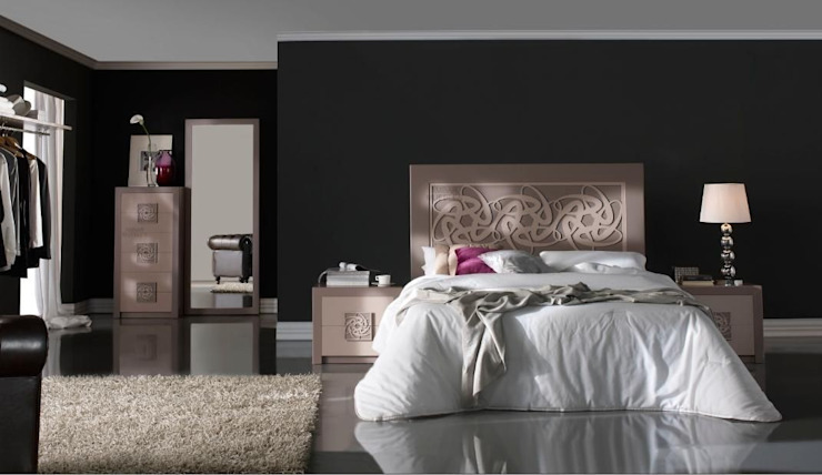 Cabecero Liliane Color Terra de Ámbar Muebles Moderno
