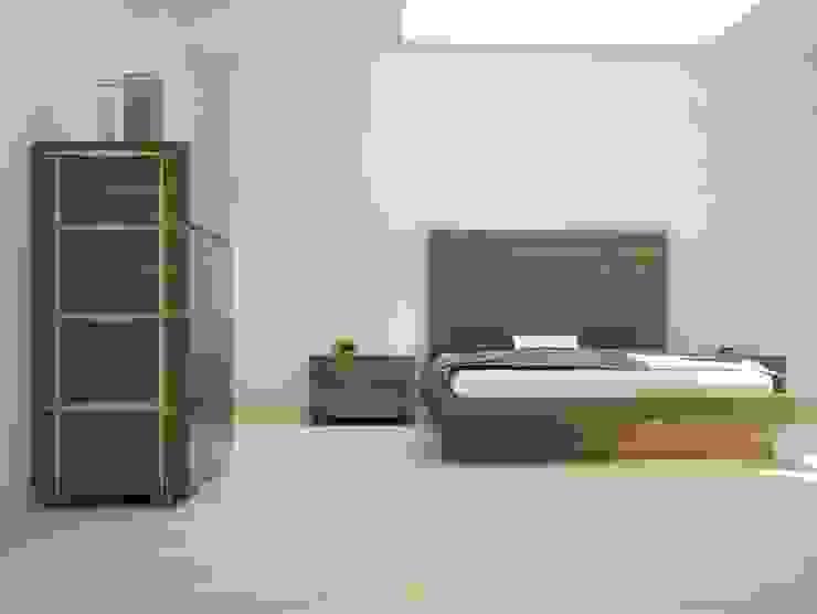 Cama Moderna Lenervo de Ámbar Muebles Moderno