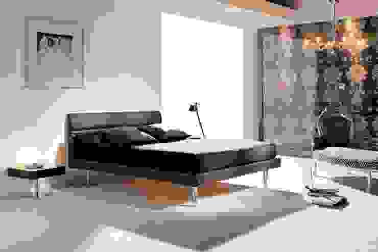 Cama de Diseño Tapizada Rock de Ámbar Muebles Moderno