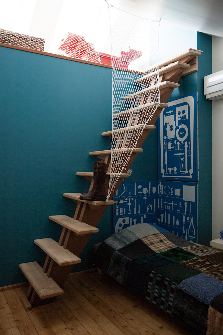 Dormitorios infantiles de estilo moderno de mllm Moderno