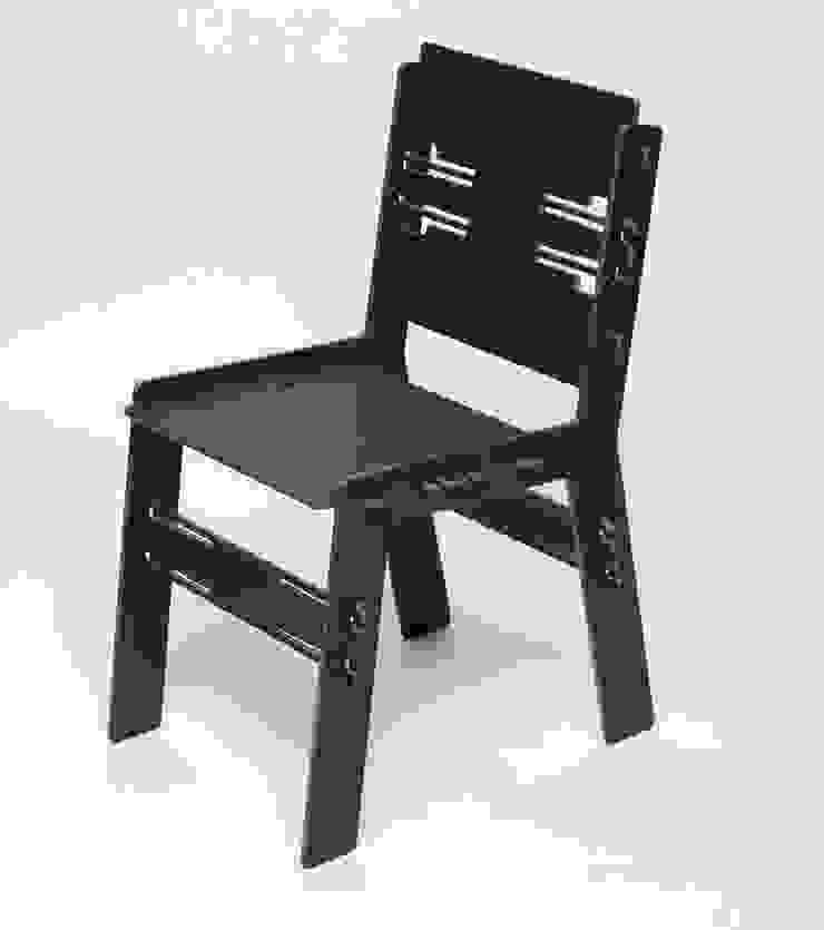 The CLICdiner chair HPL van PeLiDesign Minimalistisch