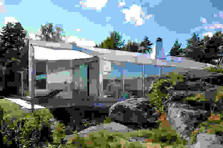 Aluminum Cabin Jarmund/Vigsnæs AS Arkitekter MNAL Eclectic style houses