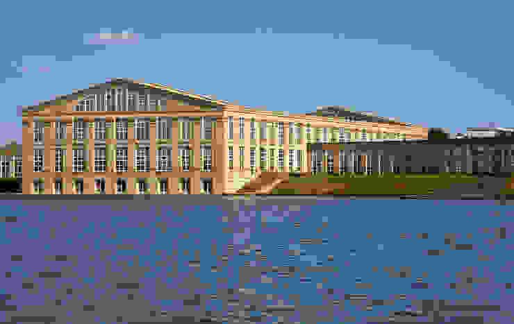 Les Temples du Lac de Ricardo Bofill Taller de Arquitectura