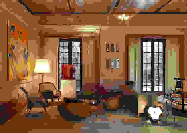 Lounge do Hotel Casa Cor Rio 2012 Salas de estar clássicas por Gisele Taranto Arquitetura Clássico