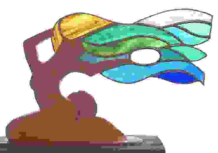mermaid: modern  by Maritima Wood Carving, Modern