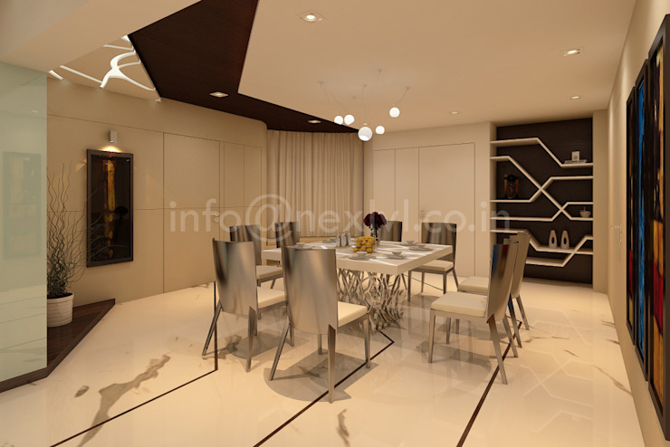 MR.OM JANGID'S RESIDENCE by NEX LVL DESIGNS PVT. LTD.