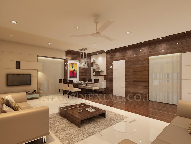 MR.JAYESH KALA'S RESIDENCE by NEX LVL DESIGNS PVT. LTD.