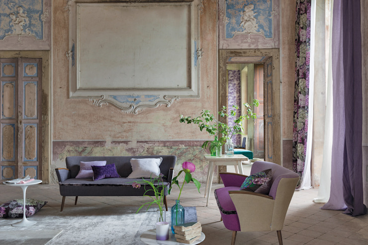 Madhuri Print collection AW14 Salon rustique par Designers Guild Rustique
