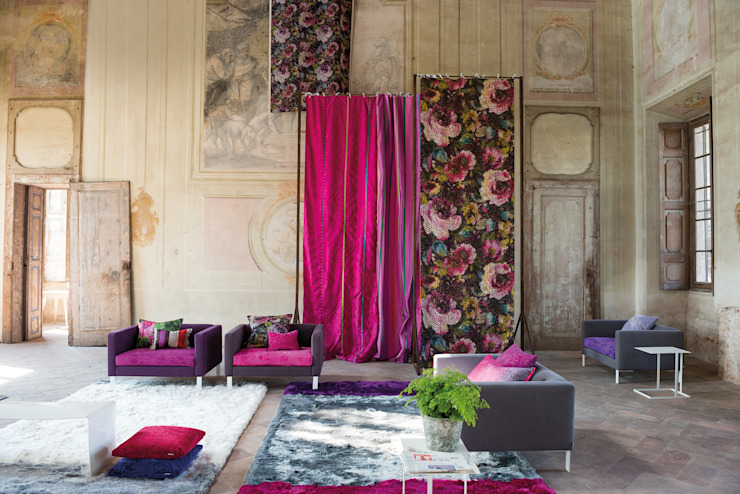 Madhuri Print collection AW14 por Designers Guild Moderno