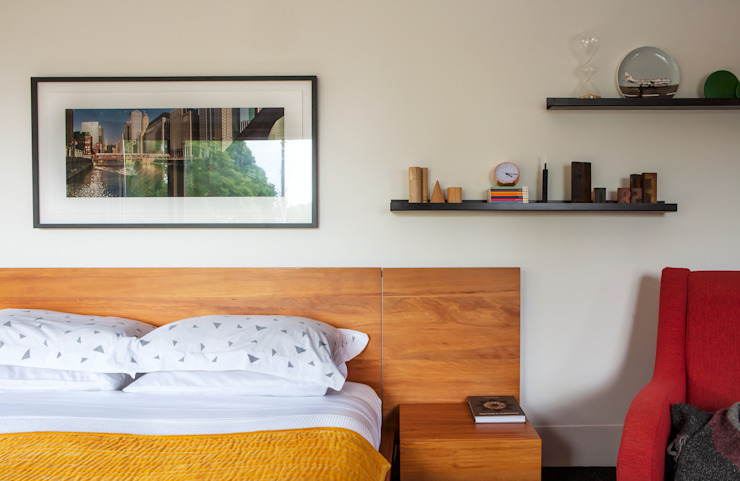 Marine Parade Modern style bedroom by Dorrington Atcheson Architects Modern