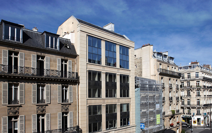 Parfums Rochas Headquarters de Ricardo Bofill Taller de Arquitectura