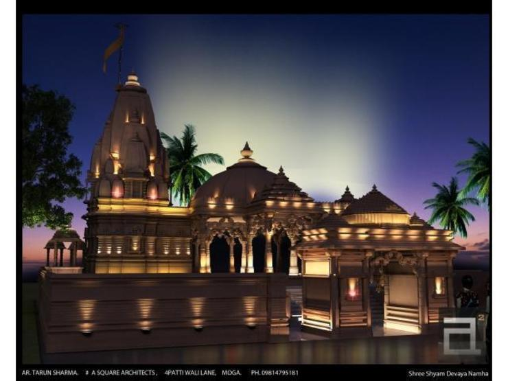 temple design: classic  by A Square Architects,Classic
