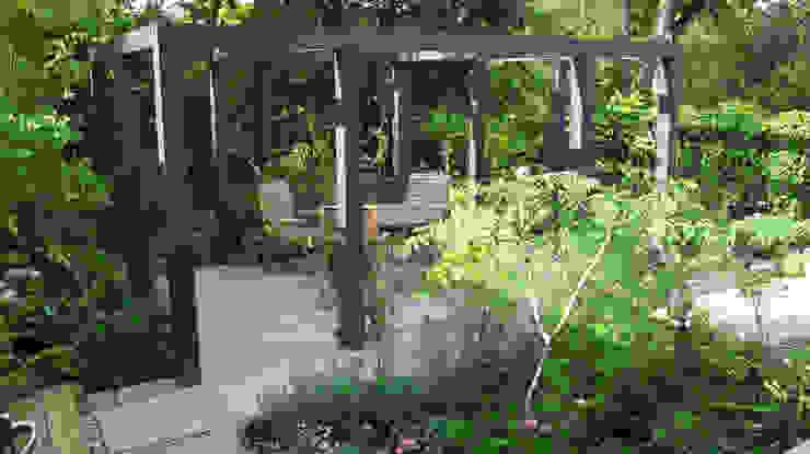 Contemporary Pergola Garden Fenton Roberts Garden Design Modern garden