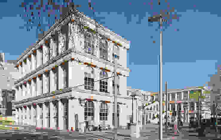 Les Echelles de la Ville de Ricardo Bofill Taller de Arquitectura