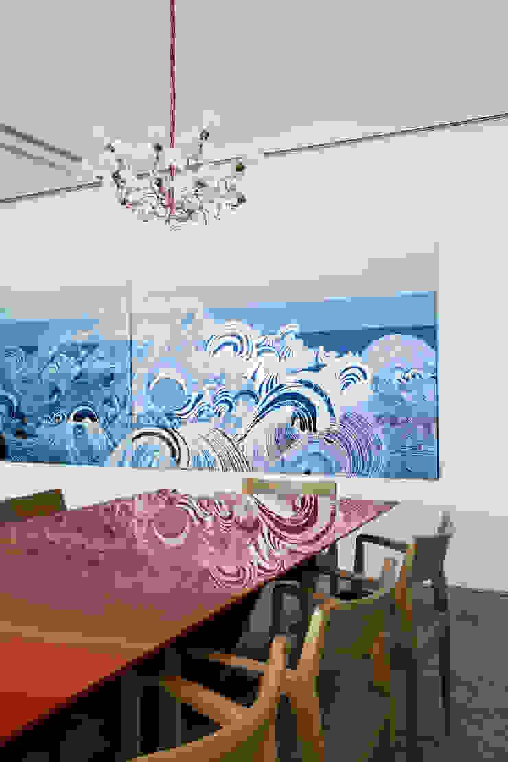 Mirante House Salas de jantar modernas por Gisele Taranto Arquitetura Moderno