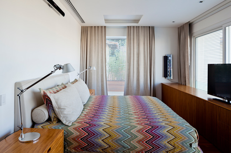 Mirante House Dormitorios modernos de Gisele Taranto Arquitetura Moderno