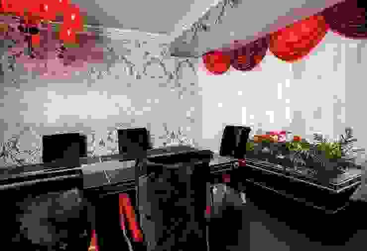 Showroom Madrid (Orense str.) de INTERIORES DE LUJO