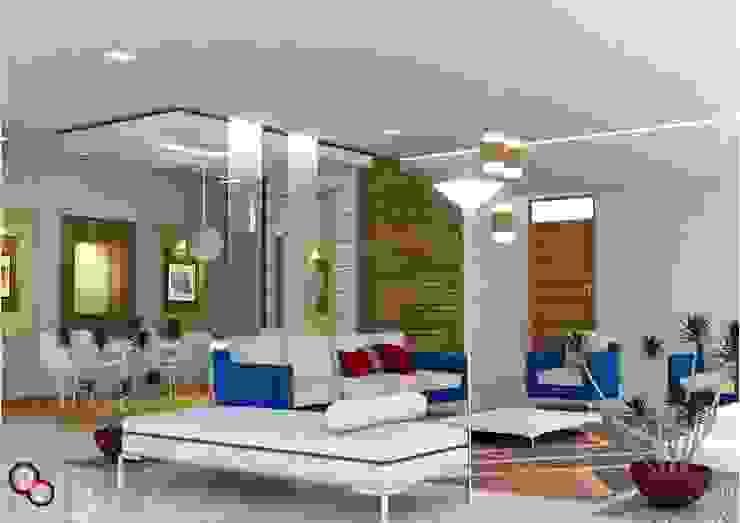 Living room interiors Modern living room by Preetham Interior Designer Modern