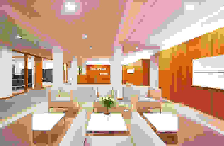 FINET AG - INTERIORDESIGN U. MIETERAUSBAU: modern  von Althaus Architekten BDA - Ludwig & Christopher Althaus, Dipl.-Ing. Architekten,Modern