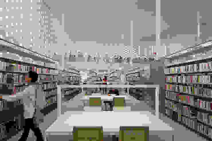 金沢海みらい図書館 の 藤江和子アトリエ