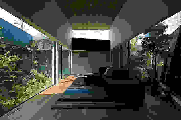 東村山の家 モダンデザインの リビング の 石井秀樹建築設計事務所 モダン