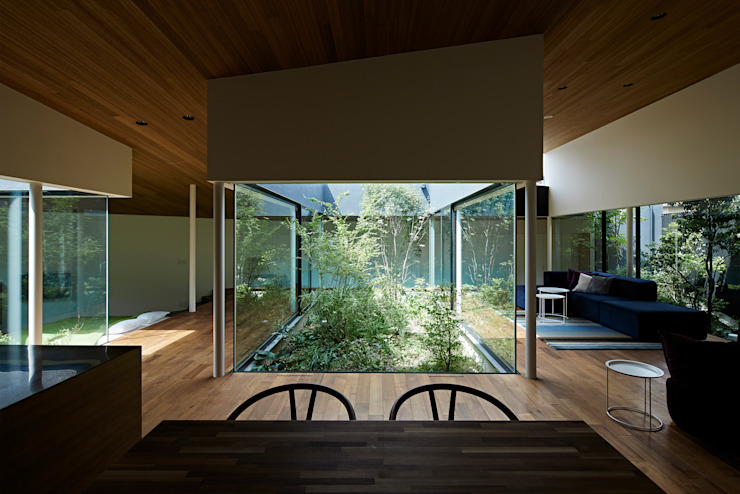 House in Higashimurayama by 石井秀樹建築設計事務所 Modern