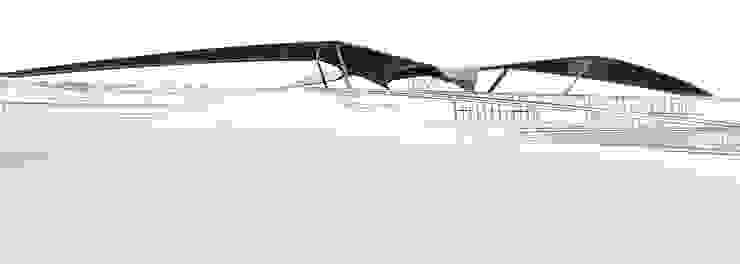 Dachkonstruktion: modern  von Squaring,Modern