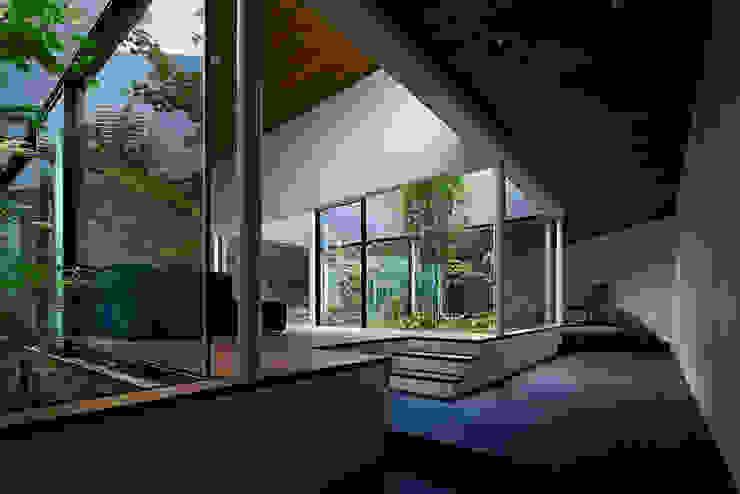 House in Higashimurayama Moderne Wohnzimmer von 石井秀樹建築設計事務所 Modern