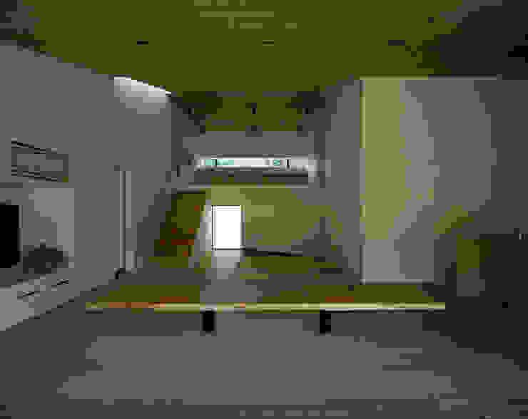 Living room by 石井秀樹建築設計事務所, Modern