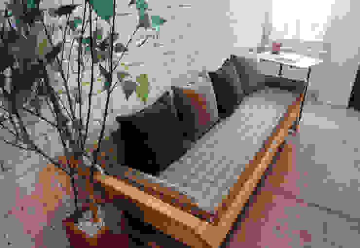 N.E fabric bench: Design-namu의 스칸디나비아 사람 ,북유럽