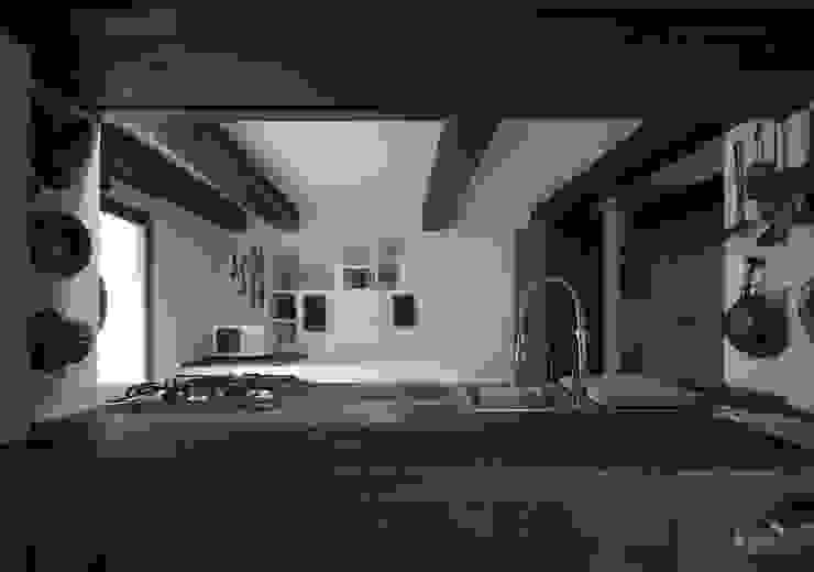 mountain house Case in stile rustico di Fabio Azzolina Architetto Rustico