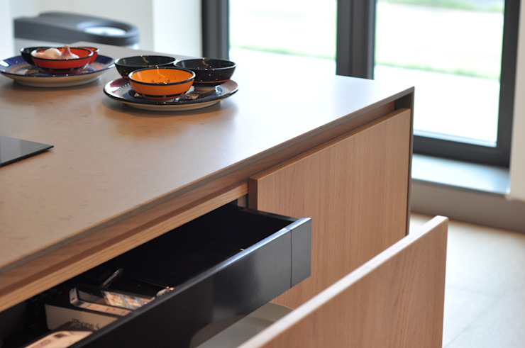 Appartement Amsterdam Minimalistische keukens van Bobarchitectuur Minimalistisch