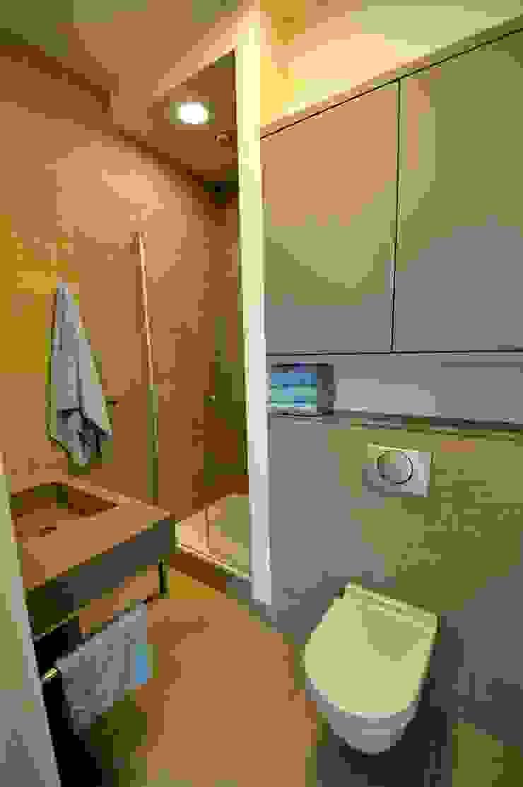 Appartement Amsterdam Minimalistische badkamers van Bobarchitectuur Minimalistisch