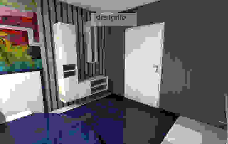 Gemütliche Stimmung schaffen – mit Blau, Türkis und Grün Moderne Badezimmer von Art of Bath Modern