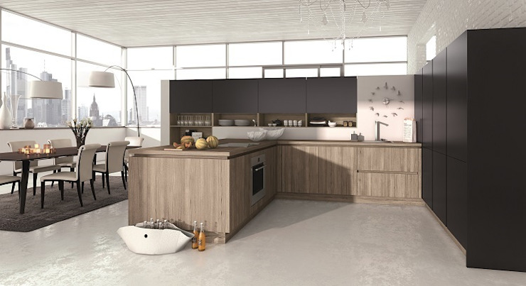 ALNOSTAR PURE & ALNOSTAR SMARTLINE: modern  by ALNO (UK) Ltd, Modern