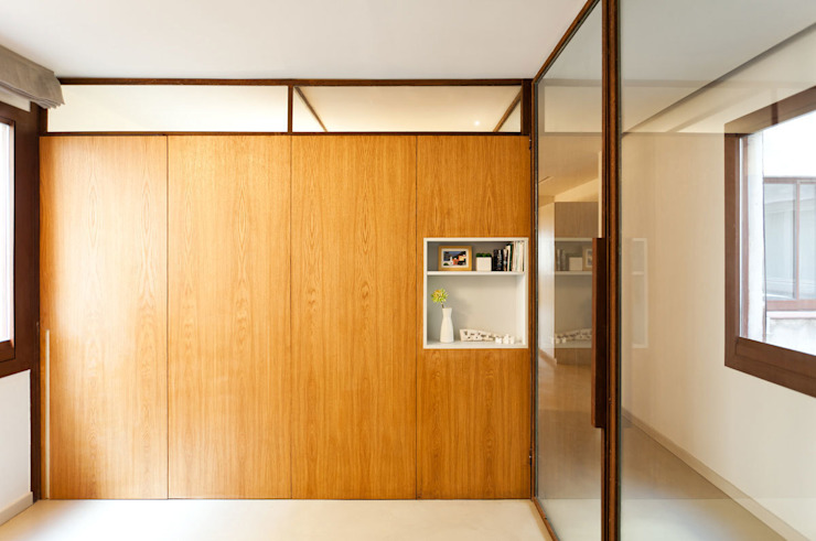 Dormitorio Dormitorios de estilo moderno de ACABADOMATE Moderno