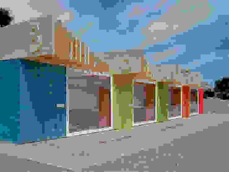 BoMo Beach huts Moderne hotels van Reinier de Jong Design Modern