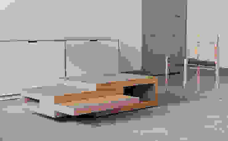 REK coffee table od Reinier de Jong Design Nowoczesny