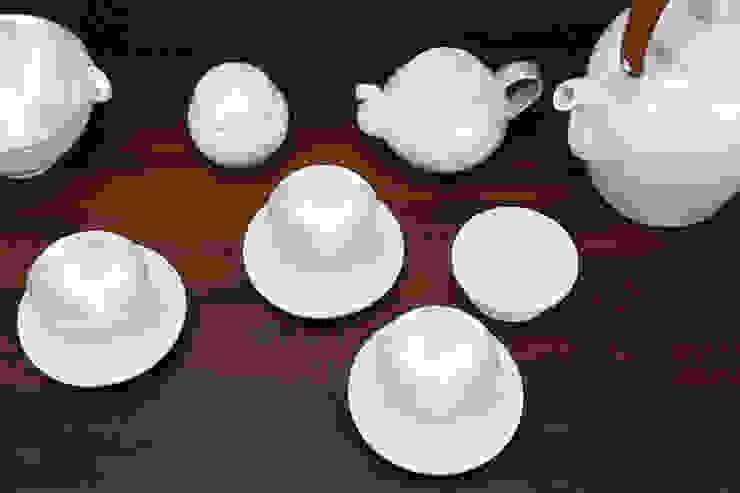 참외무늬 은칠 다기세트 도농도예 주방식기류, 그릇 & 유리 제품