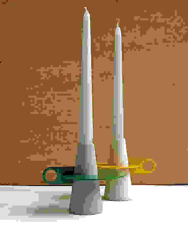 Afelio candle holder di Lucio Curcio Designer Minimalista