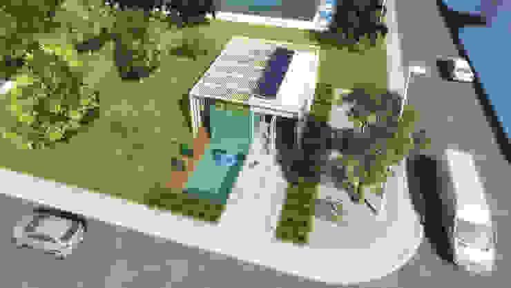 CASA PVC _ BRASKEM Casas modernas por AF Arquitetura Moderno