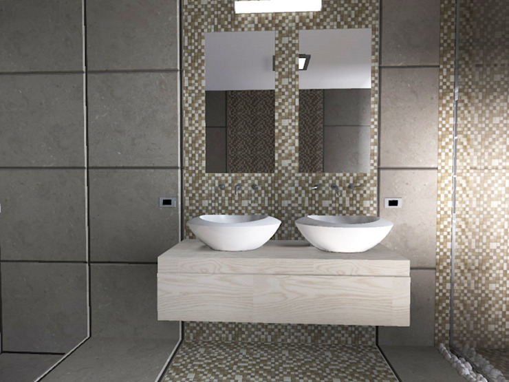 Modern style bathrooms by Liborio Fabio Cannarozzo Modern