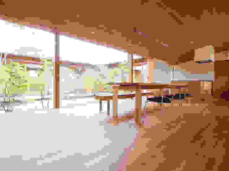三本松の家 (House in Sanbonmatsu): gramdesignが手掛けたダイニングです。,モダン